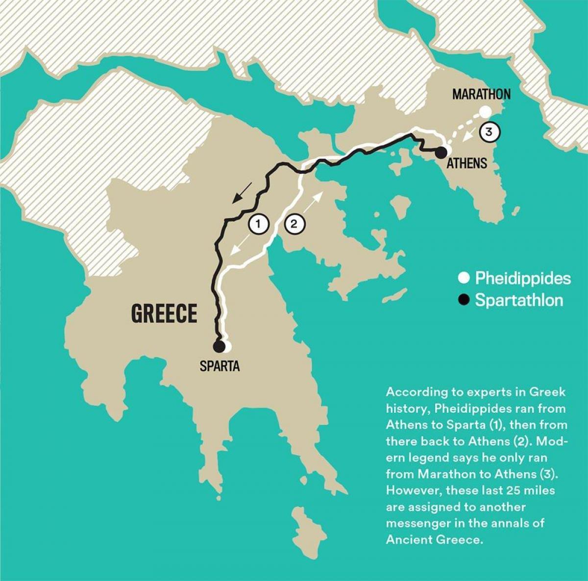 marathon grekland karta Marathon antika Grekland karta   Karta över antikens Grekland  marathon grekland karta
